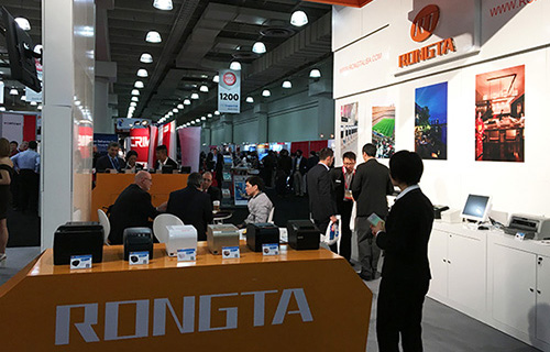 Rongtas First Exhibition in the New Year-New York NRF Show 2016