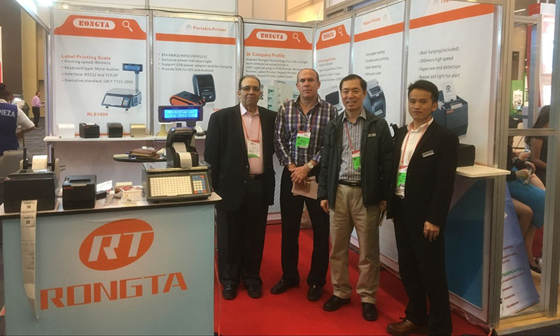 Congratulation on Xiamen Rongta technology Co.,ltd's successful attendance in Expo ANTAD 2016