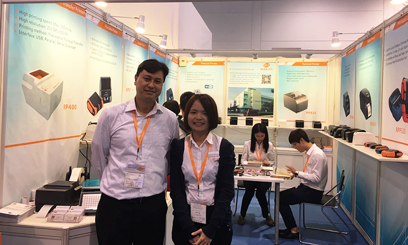 RONGTA Brings Worthy New product Attend Hong Kong Electronics Fair Autumn Edition.
