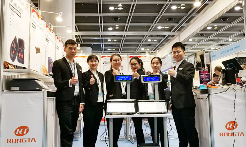 Innovate Retail--Rongta Shines 2019 Hong Kong International ICT Expo
