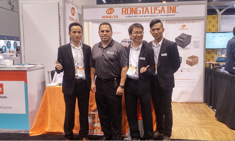 Charming Rongta, Perfect Show in NRA -2016 Rongta NRA Journey in USA