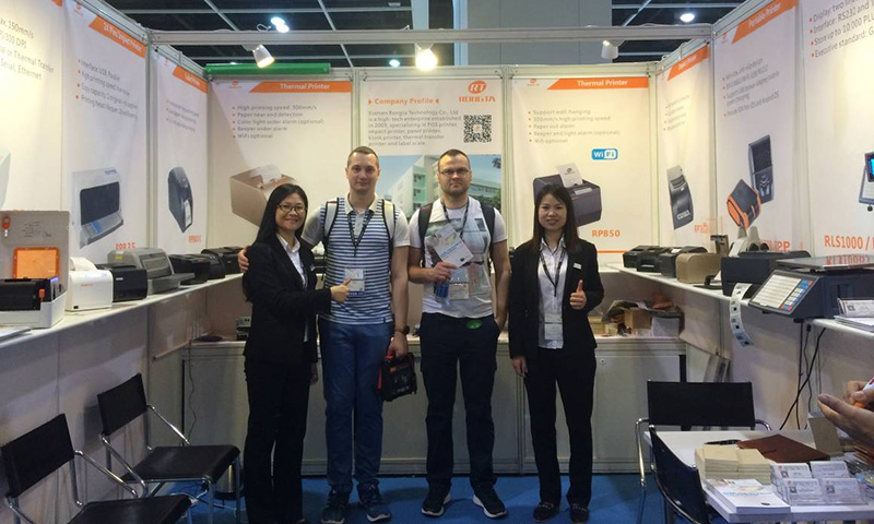 Rongta 2016 Hong Kong Electronics Fair(Spring Edition)