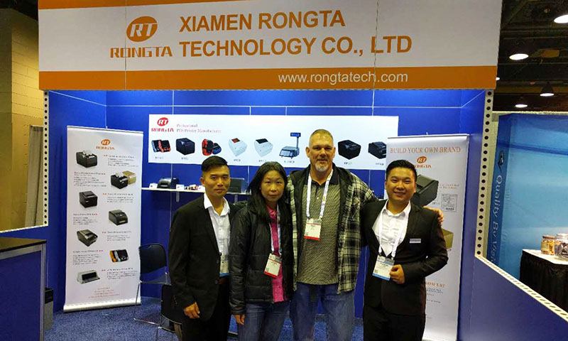Rongta Technology Show at Pack Expo 2016 Chicago